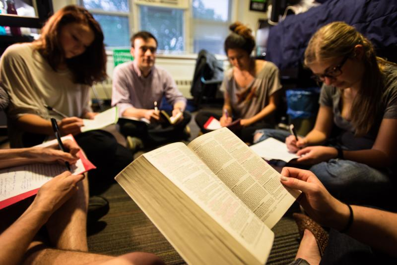 Bible Study at 40 Ontario